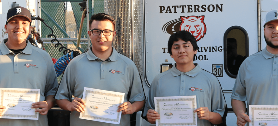Safety Program Paves Way for Truck Driving Students